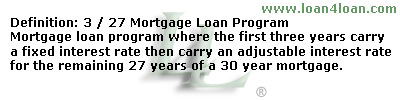 3/27 mortgage loan